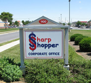 Sharp Shopper Corporate Sign